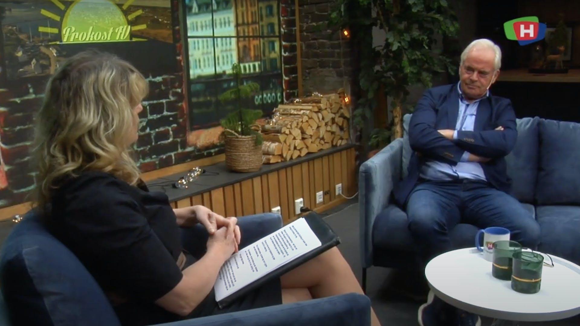 Bjarte Stubhaug gjest hos TV Haugaland